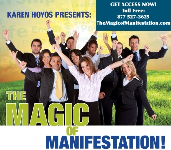 Flyer Listo THE MAGIC OF MANIFESTATION INSTANT VIDEO COURSE